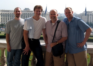 Tom, Sam, Colin, Ryan in Bucharest.jpg
