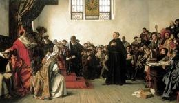 Martin Luther Zum Reichstag In Worms