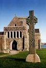 Celtic Cross And Church