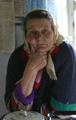An old russian woman 29